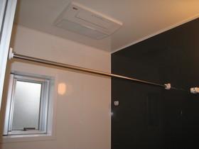 浴室暖房乾燥換気扇付き